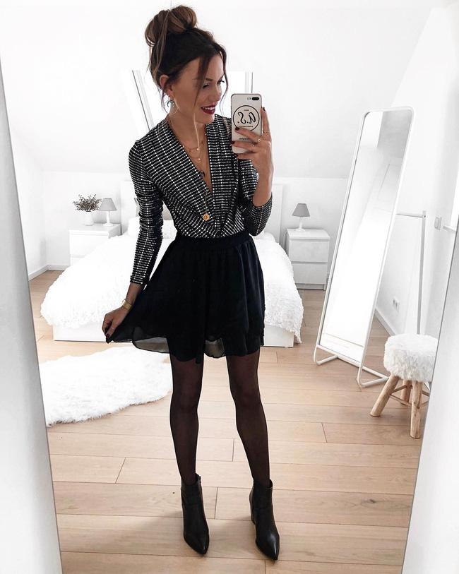 7 kiểu trang phục tưởng bình thường nhưng vẫn có thể giúp chị em nổi bần bật trong những bữa tiệc cuối năm - Ảnh 5.