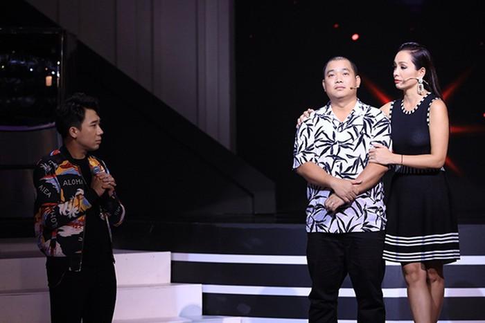 Ốc Thanh Vân 'xây xẩm mặt mày' khi nghe ông xã Trí Rùa nói về chuyện 'người thứ ba'