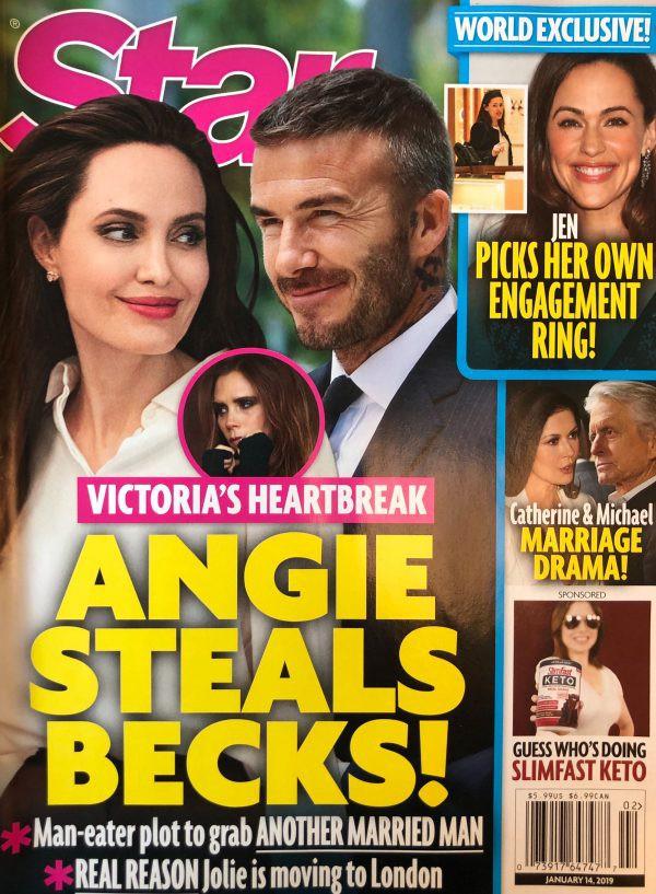 Tạp chí Mỹ gây sốc với tin Angelina Jolie giật David Beckham từ tay Victoria: Chuyện gì đang xảy ra? - Ảnh 1.