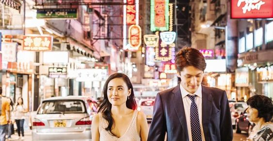 Take a trip to the vibrant streets of Hong Kong through this beautiful engagement session from Ann-Kathrin Koch!