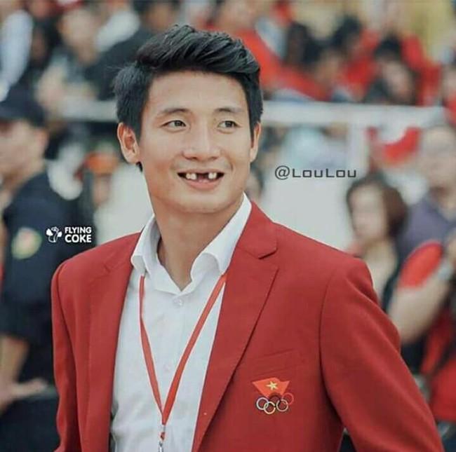 Ảnh chế răng móm của các tuyển thủ Việt Nam khiến người hâm mộ bật cười vì hài hước - Ảnh 6.