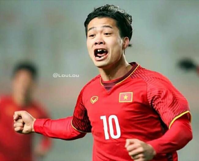 Ảnh chế răng móm của các tuyển thủ Việt Nam khiến người hâm mộ bật cười vì hài hước - Ảnh 3.
