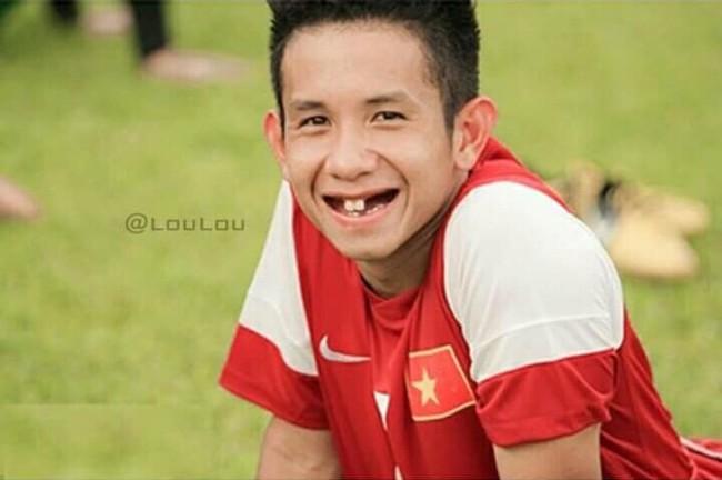 Ảnh chế răng móm của các tuyển thủ Việt Nam khiến người hâm mộ bật cười vì hài hước - Ảnh 13.