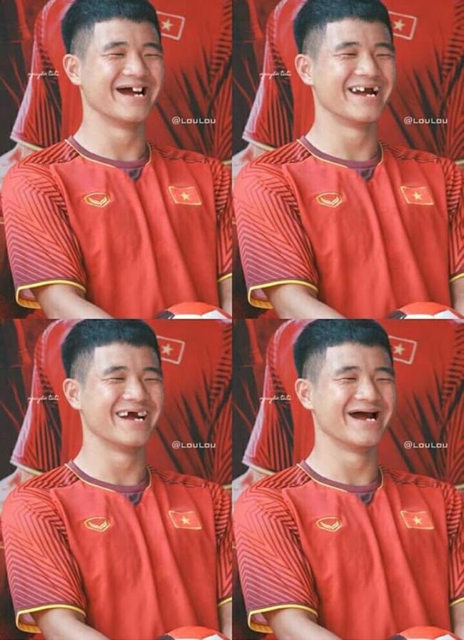 Ảnh chế răng móm của các tuyển thủ Việt Nam khiến người hâm mộ bật cười vì hài hước - Ảnh 10.