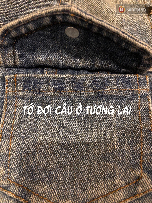 Từ túi chiếc áo khoác được tặng hậu chia tay cách đây 4 năm, cô gái òa khóc khi phát hiện ra tin nhắn bí mật - Ảnh 3.