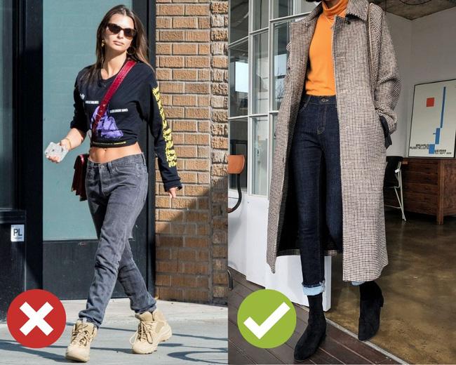 3 lỗi diện quần jeans không khiến cặp chân ngắn hơn thì cũng dễ đưa bạn vào tình huống kém duyên, nhạy cảm 0