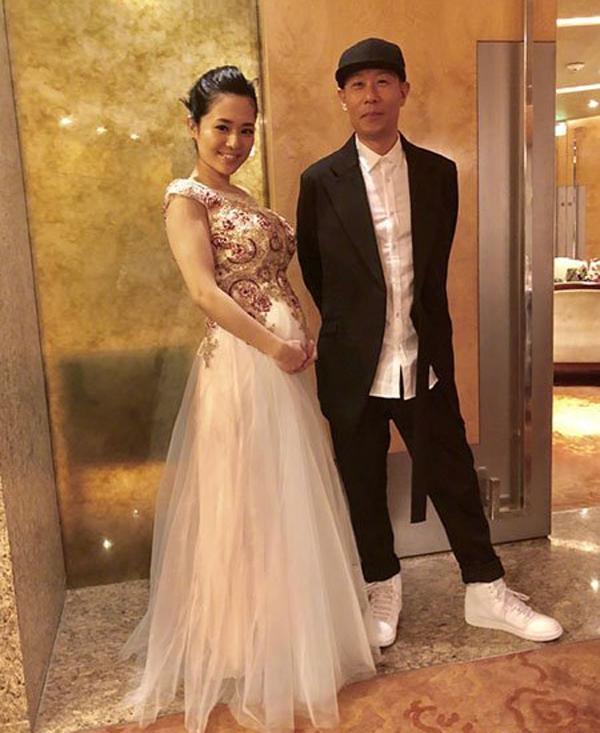 Aoi Sora và chồng trong sự kiện mới đây - Ảnh: Internet