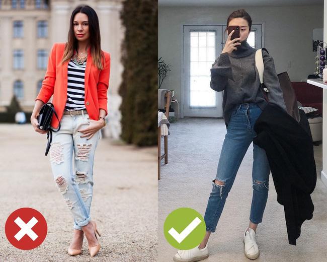 3 lỗi diện quần jeans không khiến cặp chân ngắn hơn thì cũng dễ đưa bạn vào tình huống kém duyên, nhạy cảm 8