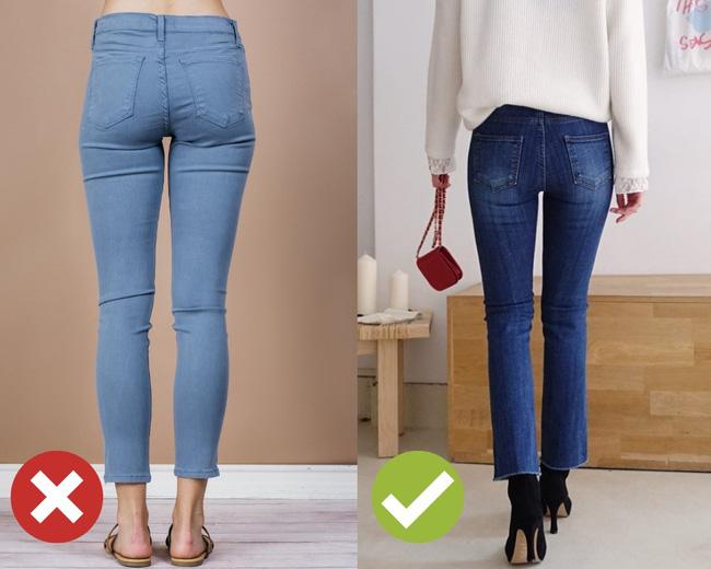3 lỗi diện quần jeans không khiến cặp chân ngắn hơn thì cũng dễ đưa bạn vào tình huống kém duyên, nhạy cảm 4