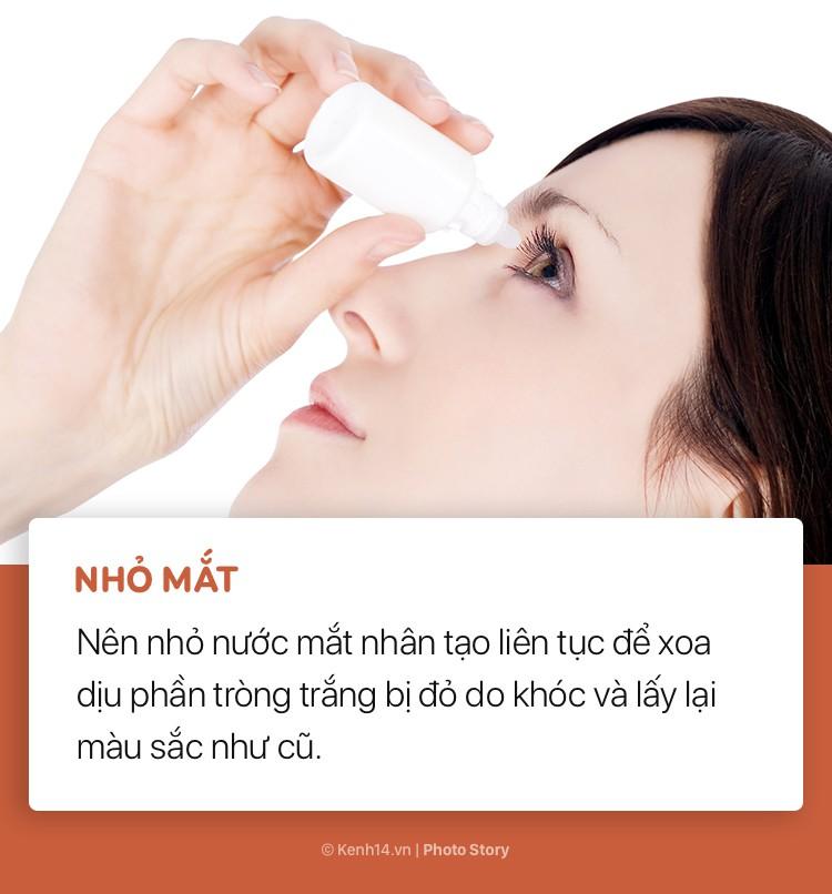 Mẹo giúp chữa sưng mắt nhanh nhất sau những lần đổ lệ - Ảnh 9.