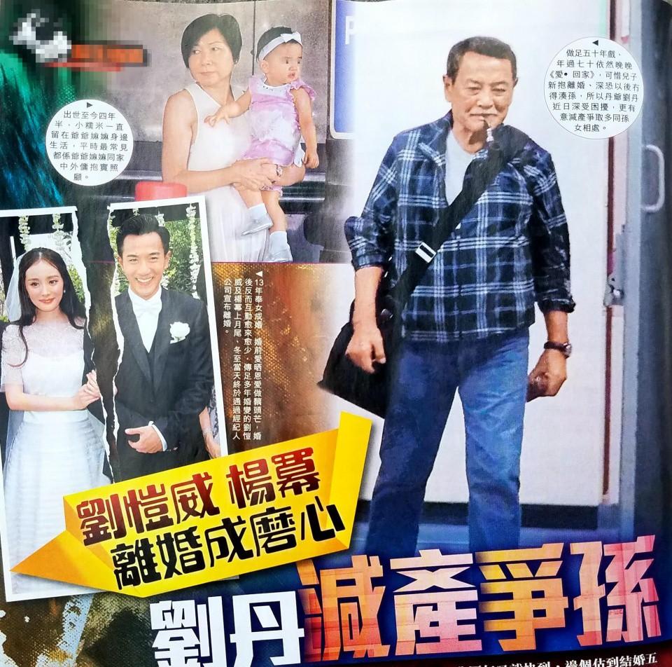 Sợ Dương Mịch giành quyền nuôi con, bố Lưu Khải Uy vội vã giảm bớt công việc để chăm cháu - Ảnh 3.