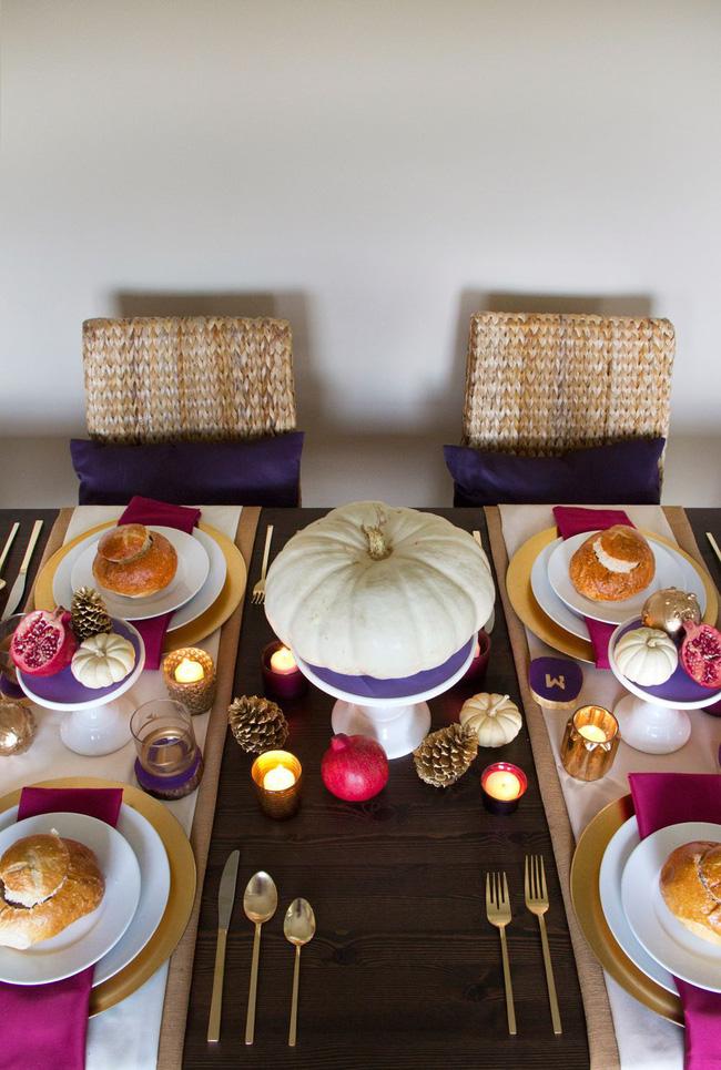 25 ý tưởng trang trí bàn ăn siêu xinh để đón Tết từ những vật dụng có sẵn xung quanh - Ảnh 8.