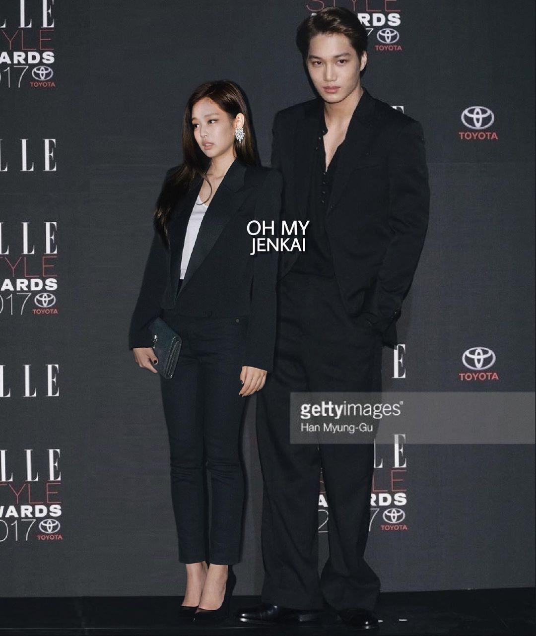 """Jennie và Kai trong loạt ảnh """"ảo tưởng"""" khiến fan tiếc hùi hụi: đẹp đôi, phong cách chất ngất quá đỗi tương đồng - Ảnh 3."""