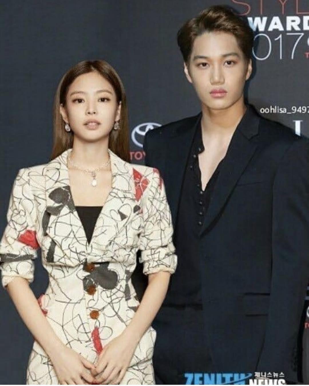 """Jennie và Kai trong loạt ảnh """"ảo tưởng"""" khiến fan tiếc hùi hụi: đẹp đôi, phong cách chất ngất quá đỗi tương đồng - Ảnh 2."""