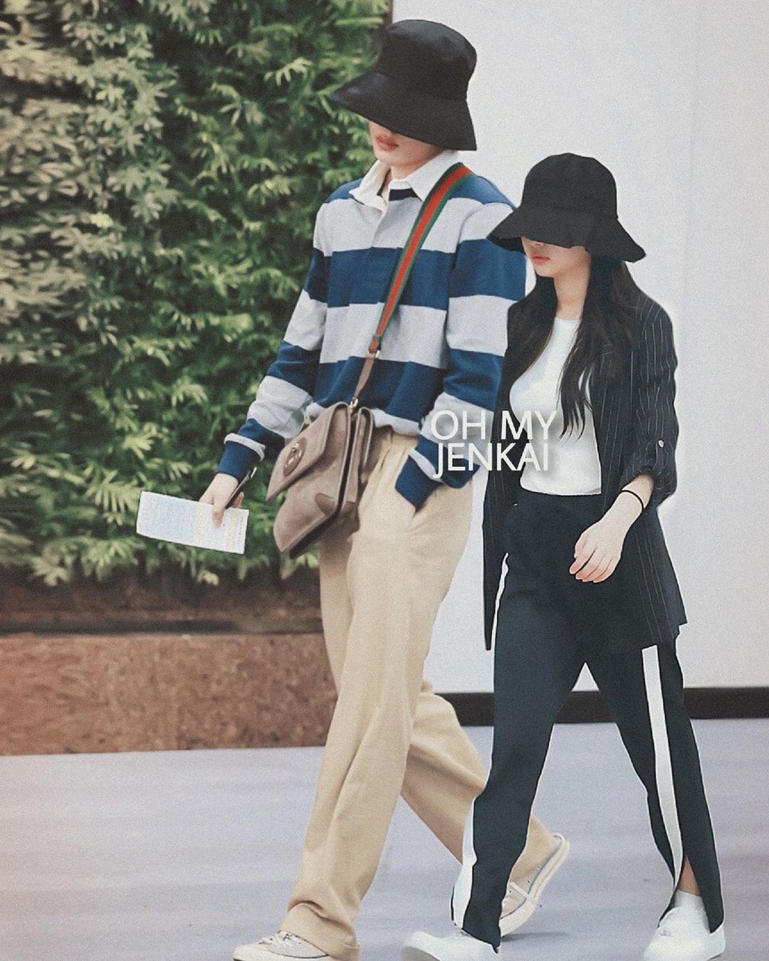 """Jennie và Kai trong loạt ảnh """"ảo tưởng"""" khiến fan tiếc hùi hụi: đẹp đôi, phong cách chất ngất quá đỗi tương đồng - Ảnh 7."""