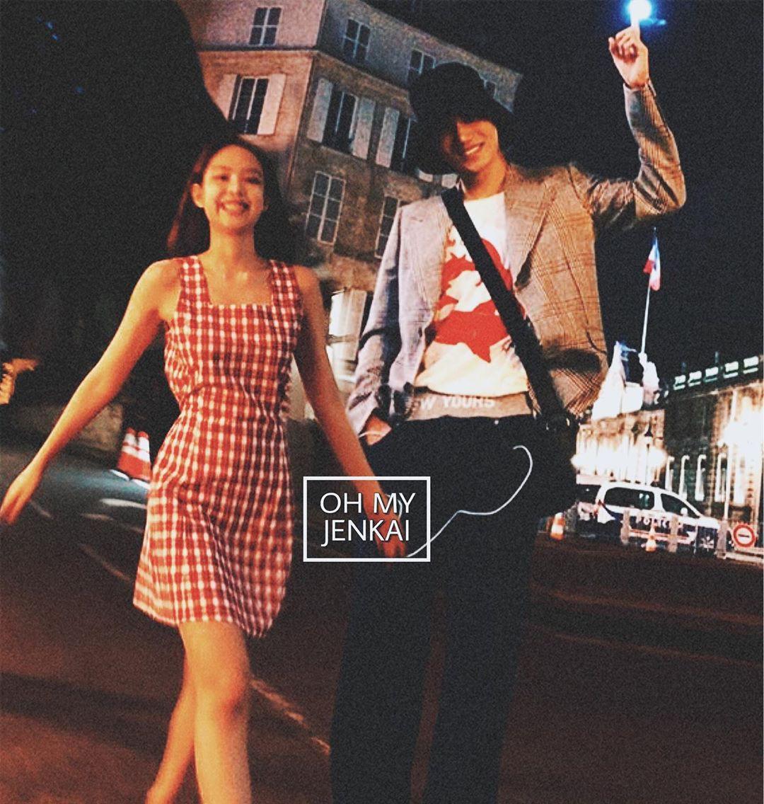 """Jennie và Kai trong loạt ảnh """"ảo tưởng"""" khiến fan tiếc hùi hụi: đẹp đôi, phong cách chất ngất quá đỗi tương đồng - Ảnh 8."""