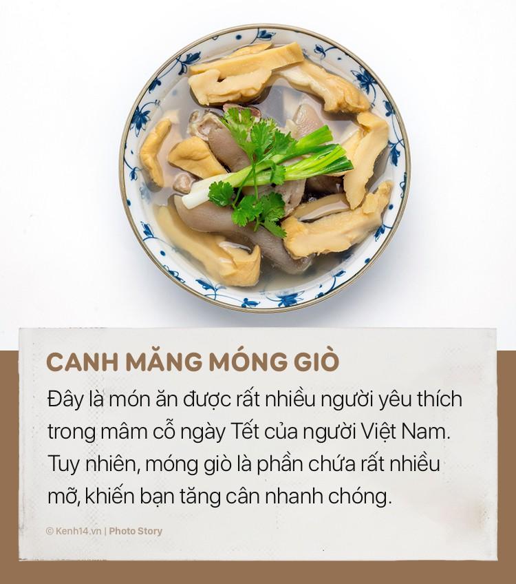 Những món ăn ngày tết sẽ khiến cân nặng của bạn tăng vùn vụt - Ảnh 11.