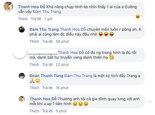 Bị hội bạn thân nói xấu khi đăng hình đi du lịch cùng gia đình, Cường Đô la được Đàm Thu Trang bênh thế này - Ảnh 2.