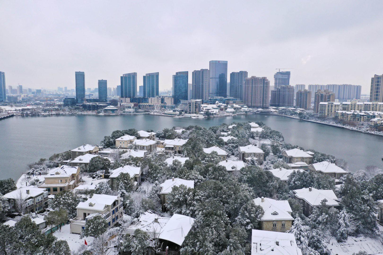 Vẻ đẹp trong trẻo của tuyết mùa xuân ở Trung Quốc khiến nhiều tín đồ du lịch cuồng chân dù đã hết Tết - Ảnh 10.