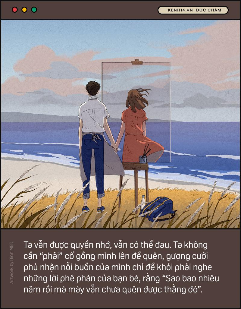 Điều đau đớn nhất không phải là chia tay, mà là sau khi chia tay gặp lại người yêu cũ