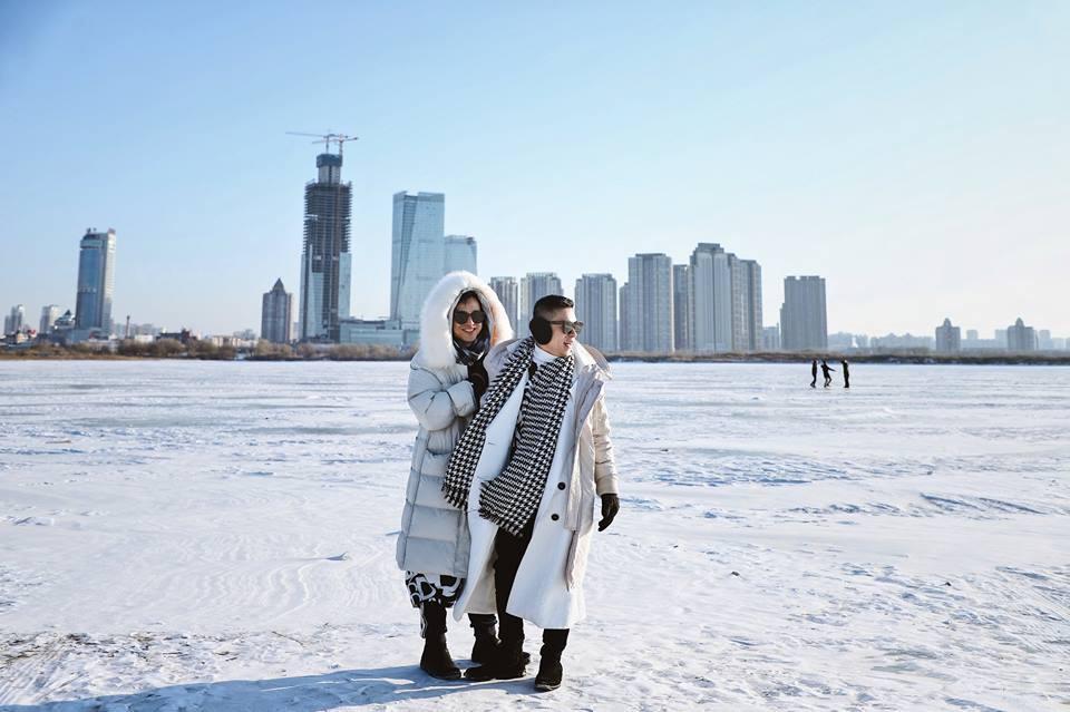 Thách thức bản thân với chuyến đi đến Thành phố băng siêu đẹp của Trung Quốc: Lúc lạnh nhất có thể xuống tới -40 độ! - Ảnh 11.