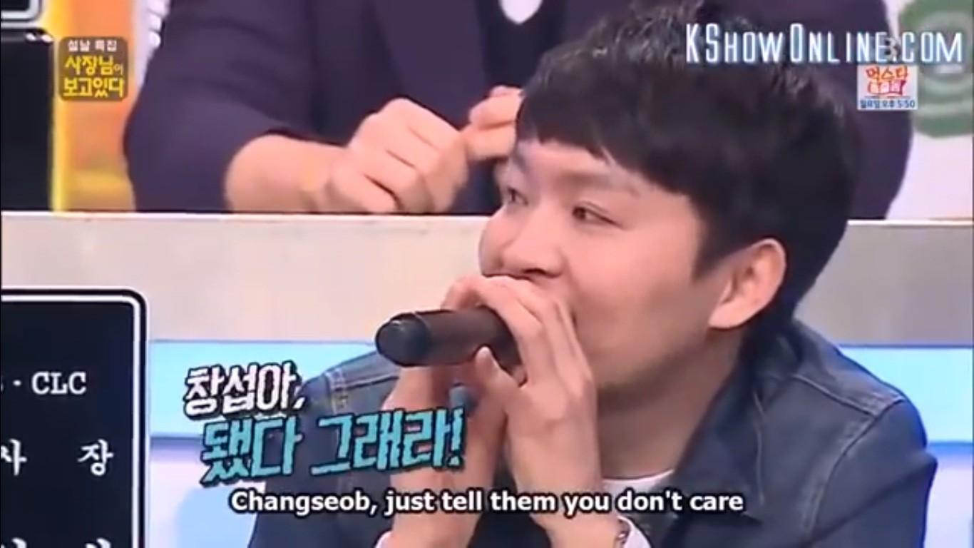 Chết cười với biểu cảm tẽn tò của Changsub (BTOB) khi bị em út GFriend... từ chối hẹn hò! - Ảnh 6.