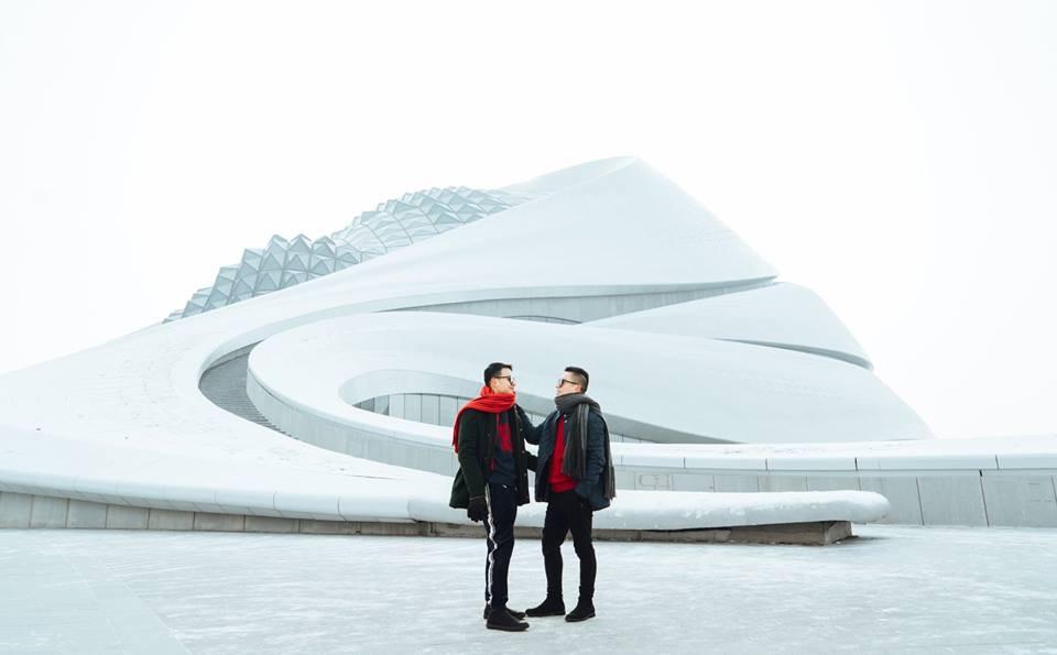 Thách thức bản thân với chuyến đi đến Thành phố băng siêu đẹp của Trung Quốc: Lúc lạnh nhất có thể xuống tới -40 độ! - Ảnh 3.