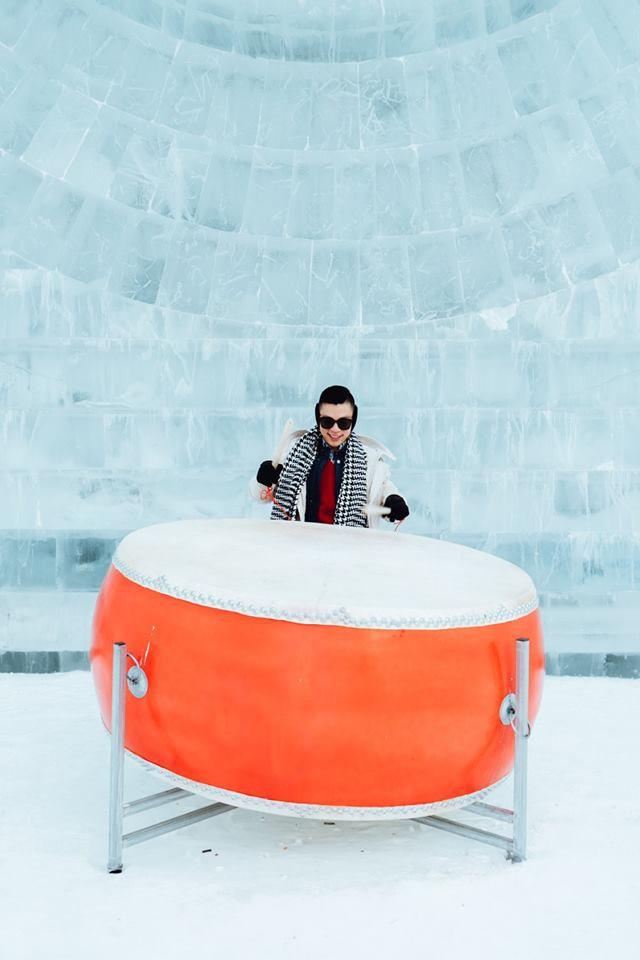 Thách thức bản thân với chuyến đi đến Thành phố băng siêu đẹp của Trung Quốc: Lúc lạnh nhất có thể xuống tới -40 độ! - Ảnh 4.