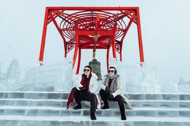 Thách thức bản thân với chuyến đi đến Thành phố băng siêu đẹp của Trung Quốc: Lúc lạnh nhất có thể xuống tới -40 độ! - Ảnh 13.