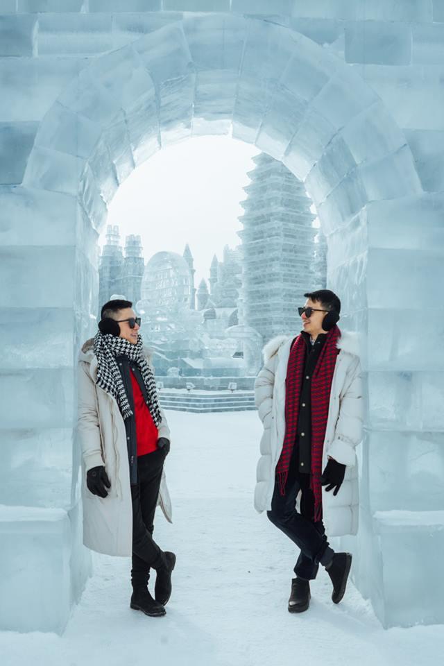 Thách thức bản thân với chuyến đi đến Thành phố băng siêu đẹp của Trung Quốc: Lúc lạnh nhất có thể xuống tới -40 độ! - Ảnh 2.