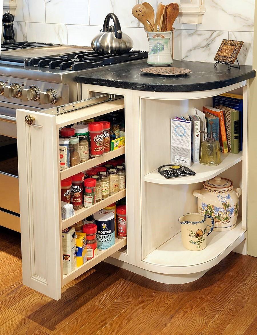 Muốn tủ bếp lúc nào cũng gọn gàng, ngăn nắp hãy tham khảo ngay những thiết kế lưu trữ đồ dùng làm bếp này - Ảnh 10.