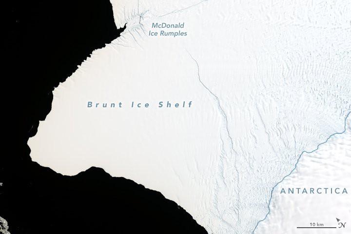 Nam Cực chuẩn bị đẻ cho nhân loại một đứa con to gấp đôi cả thành phố New York - Ảnh 5.
