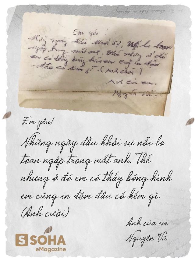Bức thư tình mùi mẫn do chính tay Vua cà phê Trung Nguyên viết gửi cô nhân viên bưu điện Lê Hoàng Diệp Thảo ngày nào bất ngờ xuất hiện gây bão CĐM - Ảnh 1.