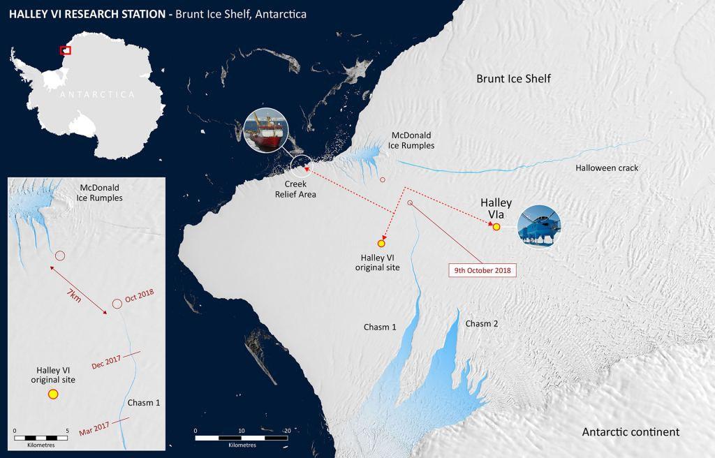 Nam Cực chuẩn bị đẻ cho nhân loại một đứa con to gấp đôi cả thành phố New York - Ảnh 1.