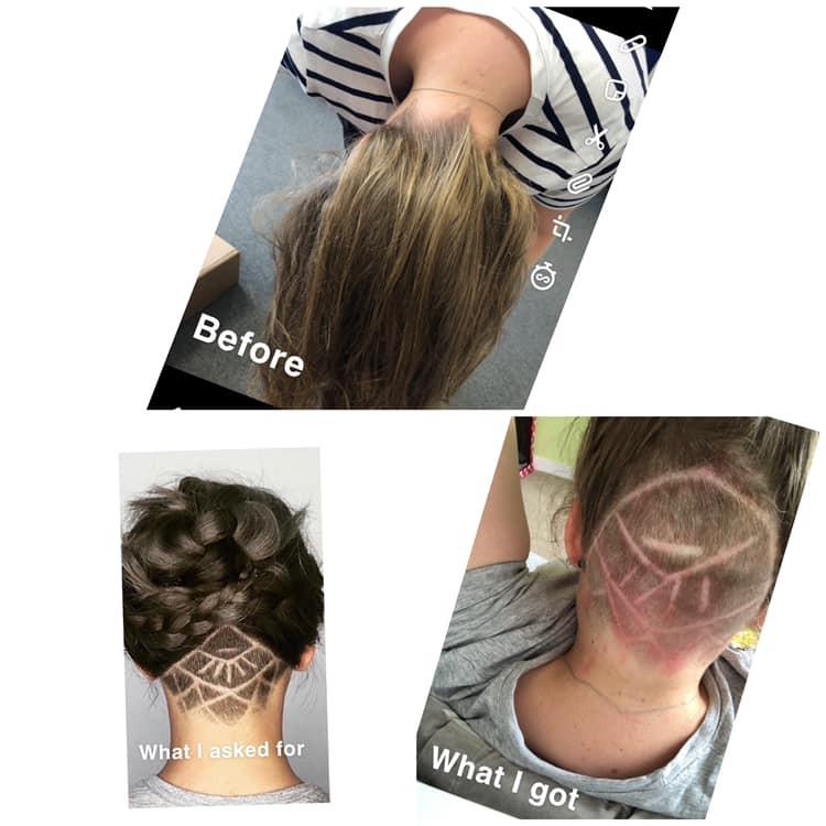 Mang ảnh mạng ra tiệm cắt tóc mong có kiểu đầu hợp mốt nhất, cô gái trẻ lại nhận cái kết đắng - Ảnh 3.