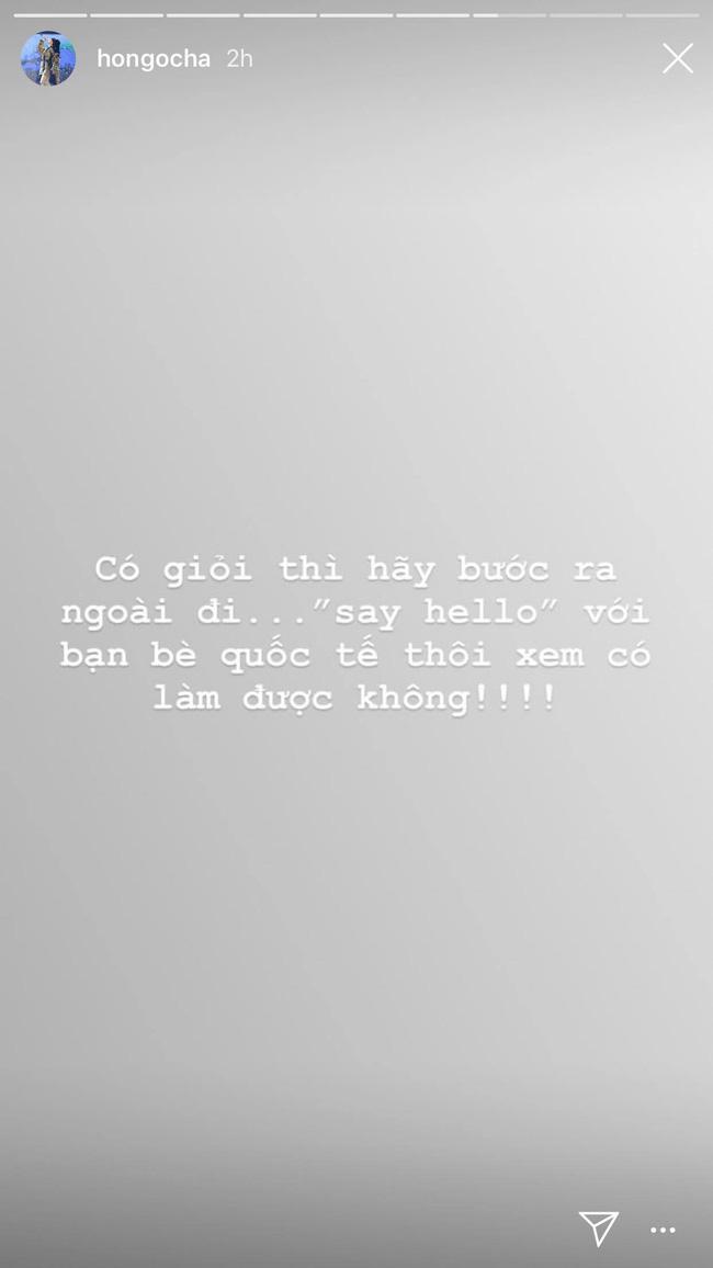 Hồ Ngọc Hà lại ban căng trên Instagram story nhưng vẫn sai chính tả - Ảnh 3.