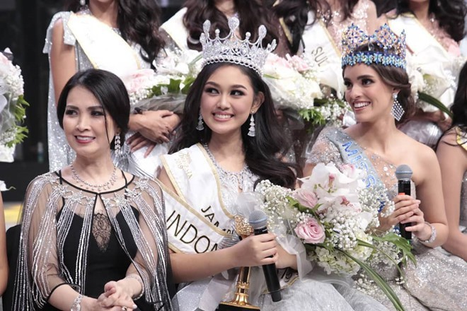 Nhan sắc và thành tích đáng nể của 4 nàng hậu mới đăng quang năm 2019: Bất ngờ với cô gái số 2! - Ảnh 10.