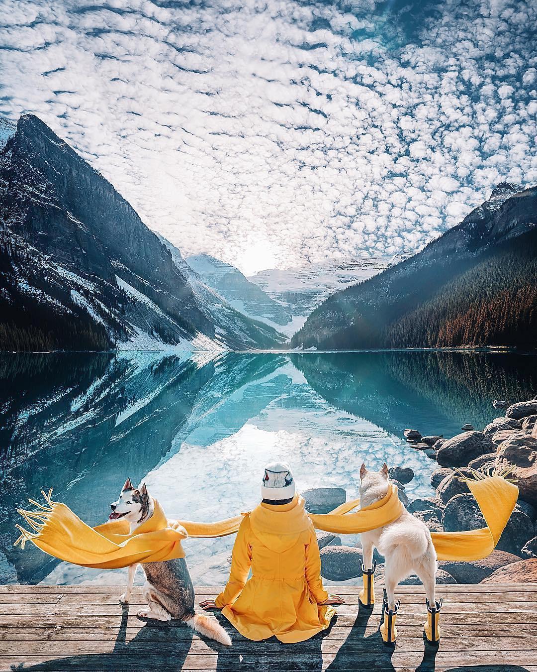 Có gì hay ở hồ nước màu xanh ngọc bích được mệnh danh là thiên đường trần gian ở Canada? - Ảnh 3.
