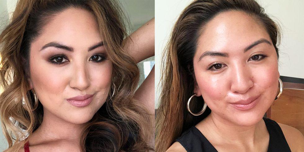 Bỏ tô trát đậm để makeup nhẹ theo Công nương Meghan, nàng beauty editor này đã nhận được hàng loạt điều tuyệt vời - Ảnh 2.