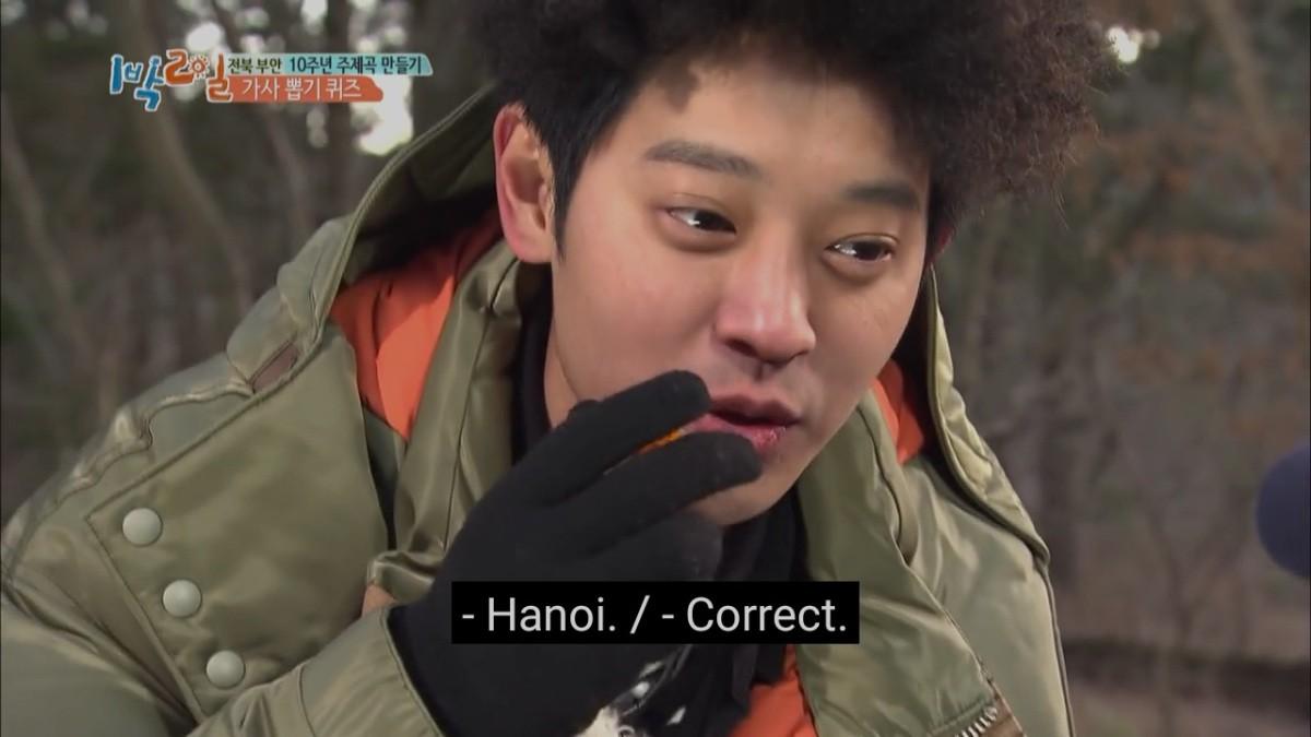 Jung Joon Young từng khiến Cha Tae Hyun bị phạt khi đoán bừa tên thủ đô Việt Nam - Ảnh 8.