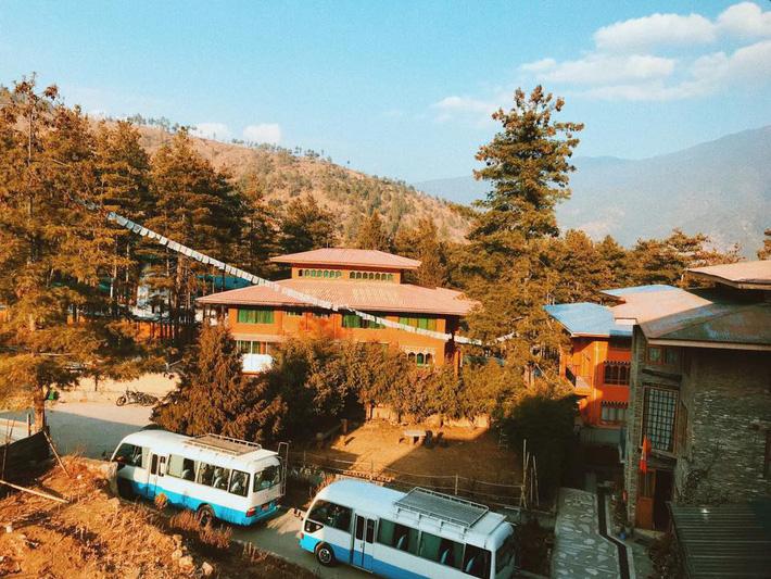 Hành trình khám phá Bhutan trong 5 ngày của cô gái Sài Gòn khiến nhiều người phải ôm mộng ước ao - Ảnh 2.