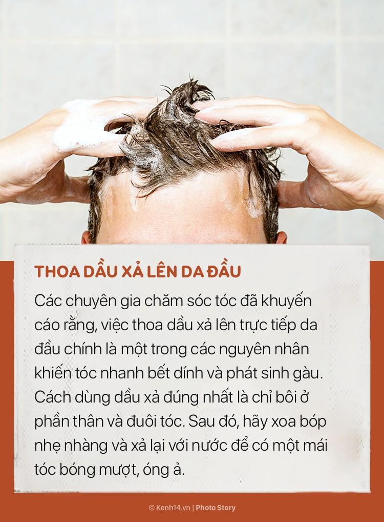 Tóc sẽ vẫn cứ bết và nhiều gàu nếu bạn không hạn chế ngay những sai lầm này khi gội đầu - Ảnh 9.