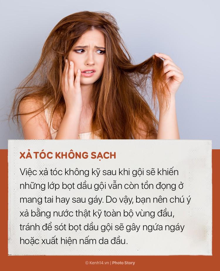 Tóc sẽ vẫn cứ bết và nhiều gàu nếu bạn không hạn chế ngay những sai lầm này khi gội đầu - Ảnh 7.