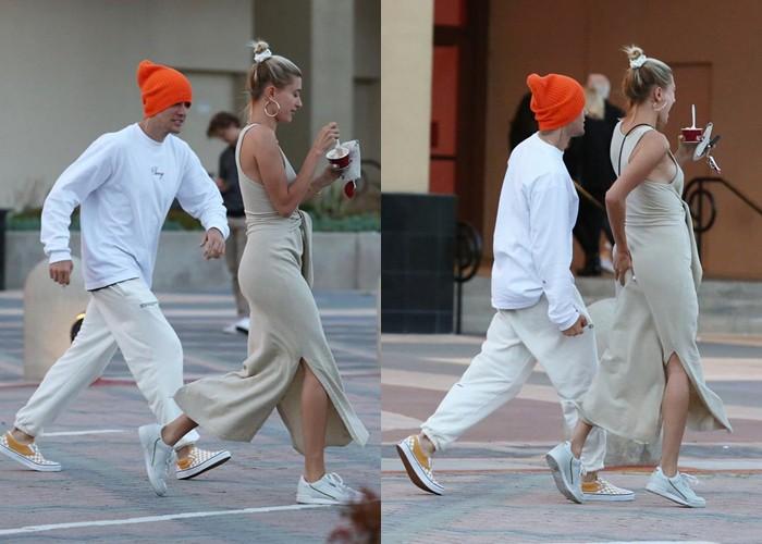 Hình ảnh Justin tét vào vòng 3 của vợ khiến fan cảm thán: Ngoài Hailey, khó ai có thể chịu được độ lầy của anh chàng - Ảnh 3.