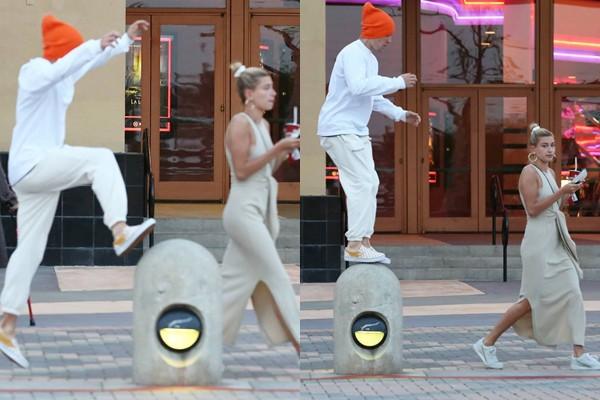 Hình ảnh Justin tét vào vòng 3 của vợ khiến fan cảm thán: Ngoài Hailey, khó ai có thể chịu được độ lầy của anh chàng - Ảnh 4.