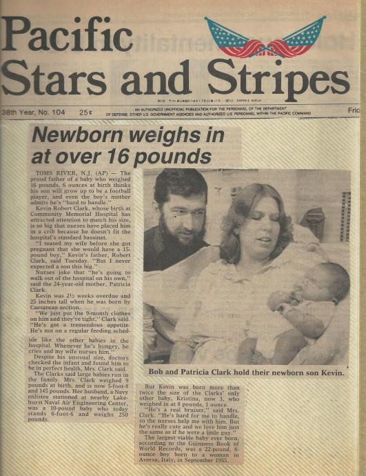 Em bé khổng lồ chào đời nặng hơn 7kg từng gây xôn xao cả nước Mỹ giờ ra sao? - Ảnh 2.