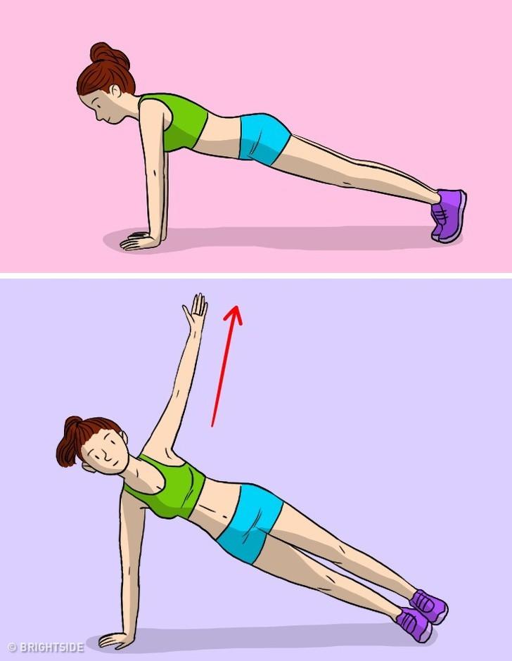 Kế hoạch tập thể dục 3 ngày để loại bỏ mỡ bụng