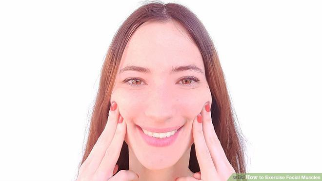 10 bài tập cực đơn giản giúp môi xinh, má mọng, mặt không nếp nhăn
