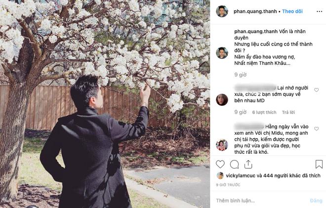 Bắt trend chụp hình với hoa đào, Phan Thành vẫn không quên lồng chút thính so deep không ai bằng - Ảnh 1.