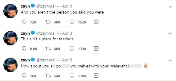 Hẹn hò trai lạ, Gigi Hadid bị chính bạn trai cũ Zayn Malik dằn mặt và chửi bới trên Twitter? - Ảnh 2.